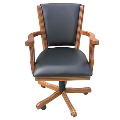 Kingston Oak Poker Table Arm Chair (Set of 4)