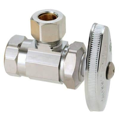 3/8 in. FIP Inlet x 3/8 in. Compression Outlet Multi-Turn Angle Valve