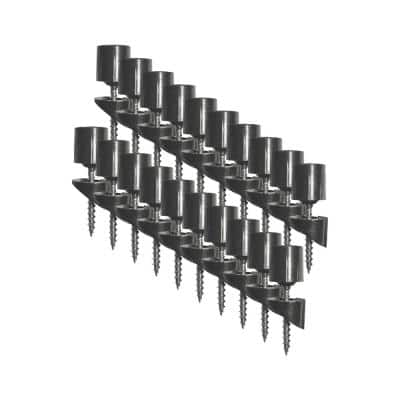 Surface Mount Stair Railing Adapters for 3/4 in. Round Balusters (20-Piece)