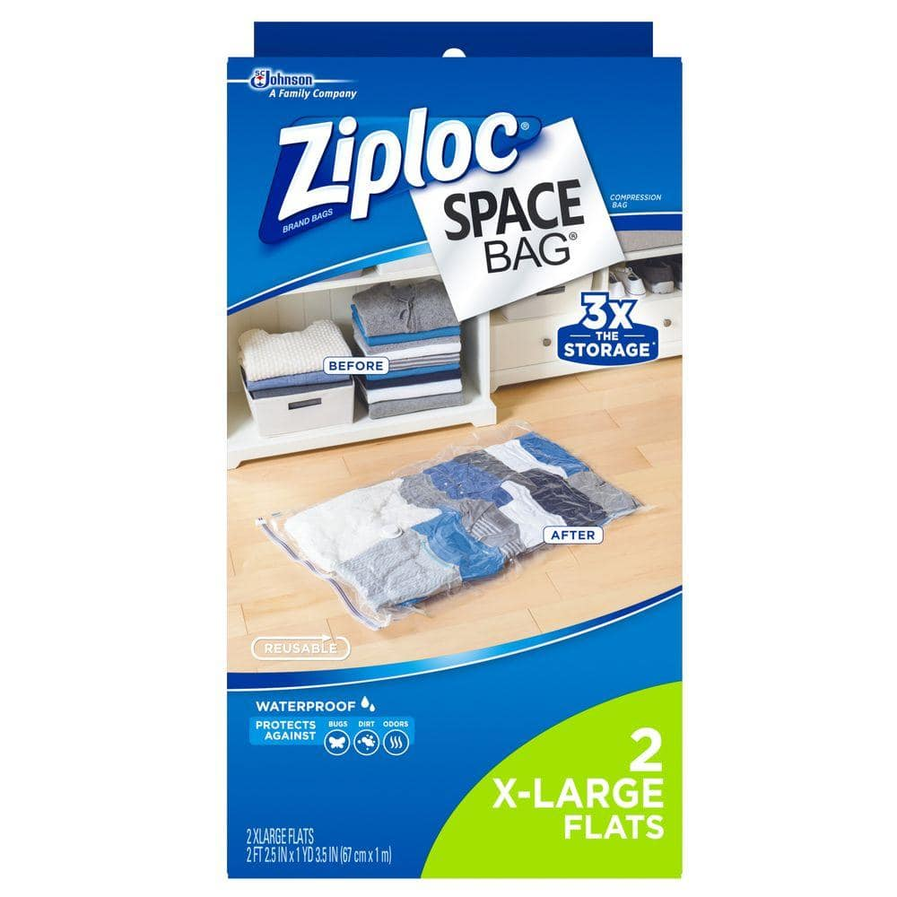 Home Strong Vacuum Storage Seal Bags Saving Space VAC Reusable Compressed Bag