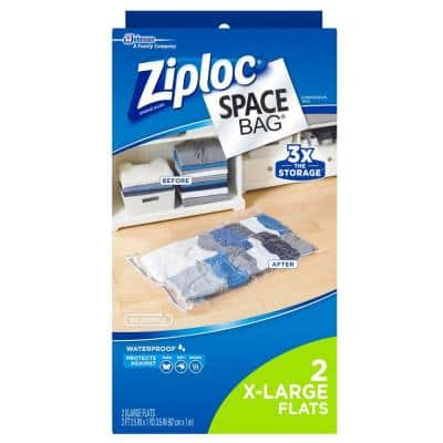 Space Bags X-Large Plastic Bag (2-Pack)