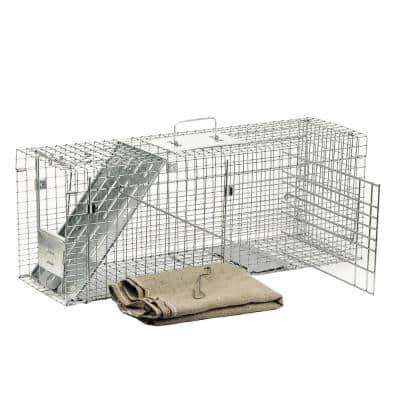 Large 1-Door Collapsible Feral Cat Rescue Kit