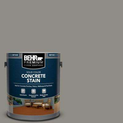 1 gal. #PFC-69 Fresh Cement Solid Color Flat Interior/Exterior Concrete Stain