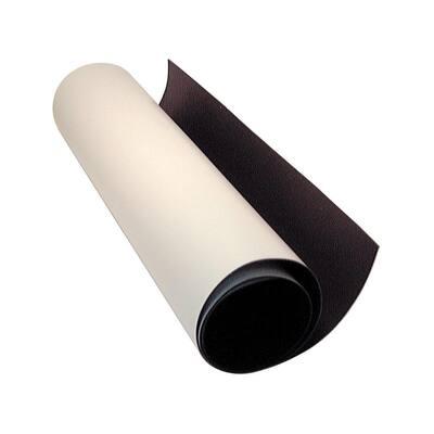 10 ft. L White Flexible Magnetic Sheet