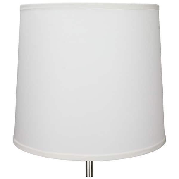 Slant Linen Snow Empire Lamp Shade 14, 14 Inch Lamp Shade Linen