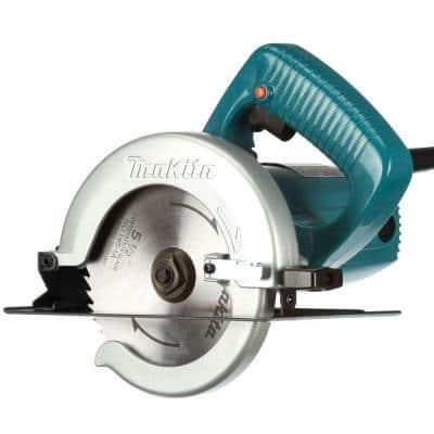 8 Amp 5-1/2 in. Corded Electric Brake Circular Saw with 18T Carbide Blade