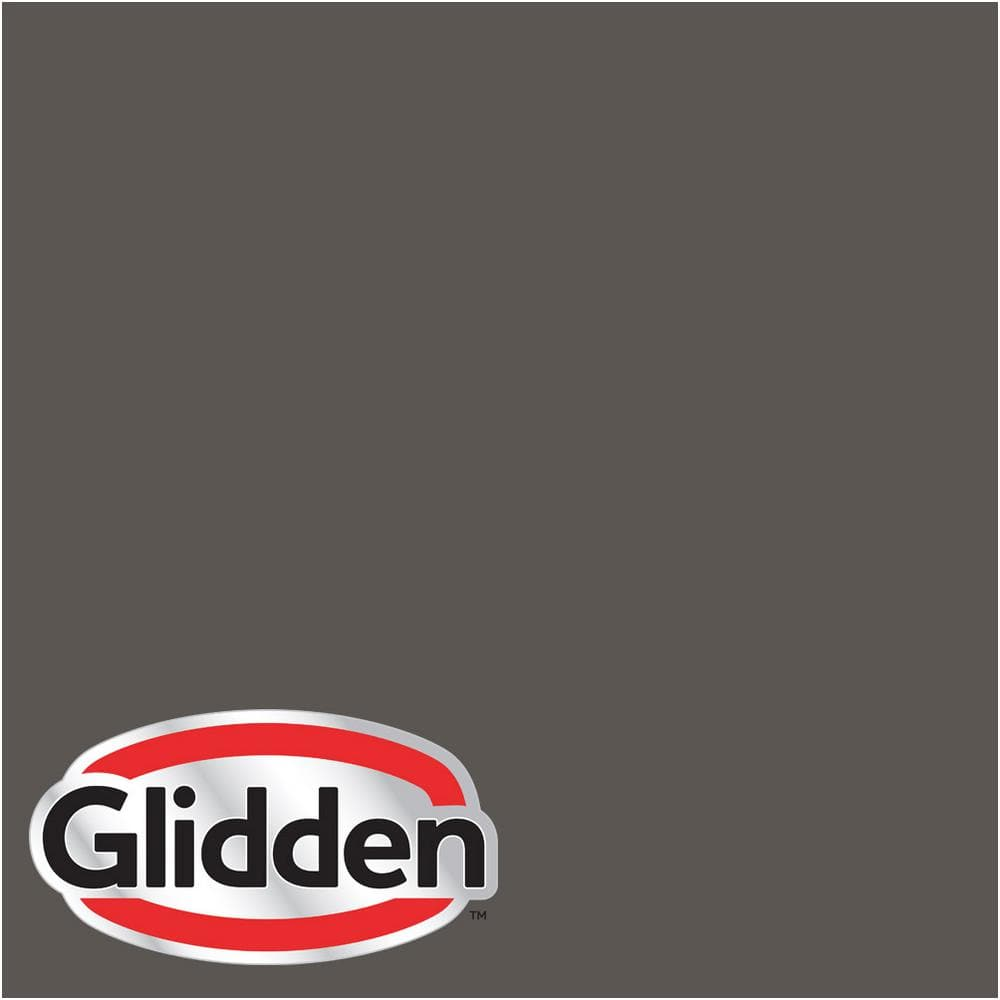 Glidden Premium 1 Gal Hdgcn52 Forest Black Flat Latex Exterior Paint Hdgcn52px 01f The Home Depot
