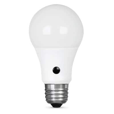 60-Watt Equivalent Daylight (5000K) A19 IntelliBulb Dusk to Dawn CEC Title 20 Compliant 90+ CRI LED Light Bulb