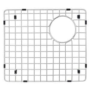 15-1/2 in. x 14 in. Stainless Steel Bottom Grid Fits Large Bowl on QT-721 and QU-721