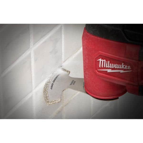 "Millwaukee Fit 2-1//2/"" Flushcut Diamond Oscillating Multi Tool Blade Makita"