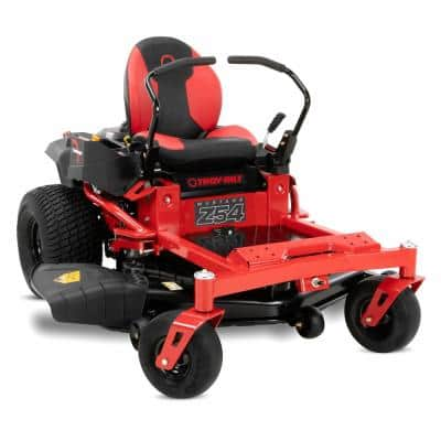 Mustang 54 in. 24 HP V-Twin Kohler 7000 Series Engine Dual Hydrostatic Drive Gas Zero Turn Riding Lawn Mower