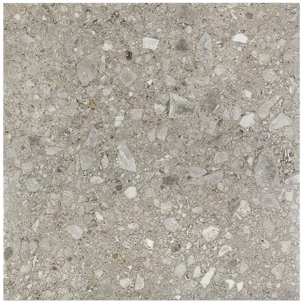 Ivy Hill Tile Rizzo Gray 24 In X 24 In X 9mm Semi Polished Porcelain Floor And Wall Tile 3 Pieces 11 62 Sq Ft Box Ext3rd101252 The Home Depot