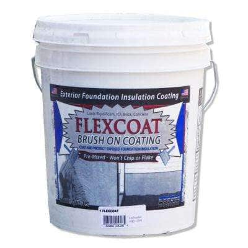 5 Gal. White FlexCoat Brush on Foundation Coating