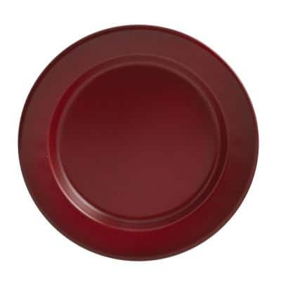 Linville Red Enamel Salad Plate (Set of 4)