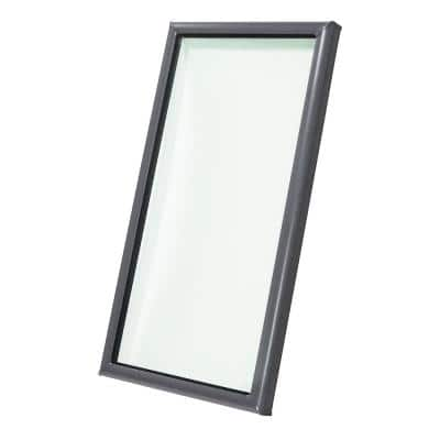 22-1/2 in. x 30-1/2 in. Fixed Curb-Mount Skylight with Laminated Low-E3 Glass