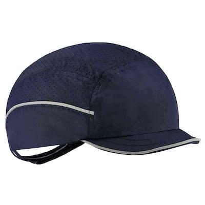 8955 Micro Brim Navy Lightweight Bump Cap Hat