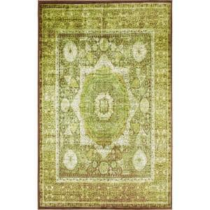 Imperial Lygos Green 5' 0 x 8' 0 Area Rug