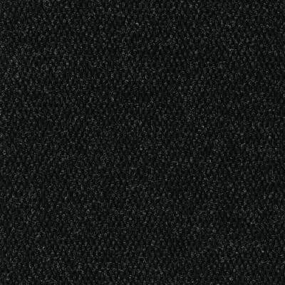 Peel and Stick Modular Mat Hobnail Charcoal 18 in. x 18 in. Indoor/Outdoor Carpet Tile (10 Tiles/Case)