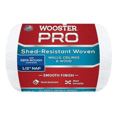 4 in. x 1/2 in. High-Density Pro Woven Fabric Roller Cover