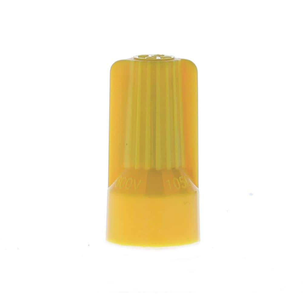 22-8 AWG Classic Fin Shell BUCHANAN B-Cap B2-350JR Flame-Retardant Twist-On Wire Connector Live-Action Spring