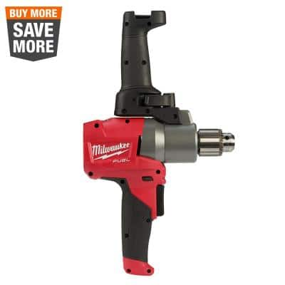 M18 FUEL 18-Volt Lithium-Ion Brushless Cordless 1/2 in. Mud Mixer (Tool-Only)