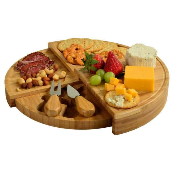Unbranded - Florence Transforming Bamboo Cheese Board Set