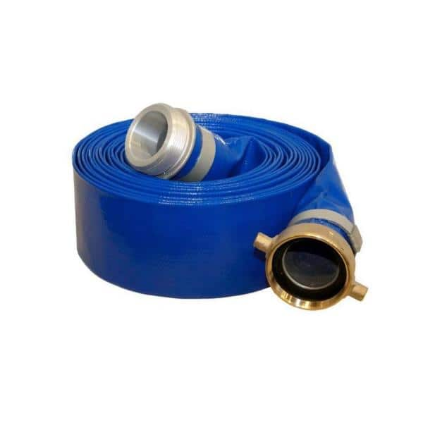 25 Ft Heavy Duty Discharge Hose, Garden Hose To Pvc Adapter Home Depot