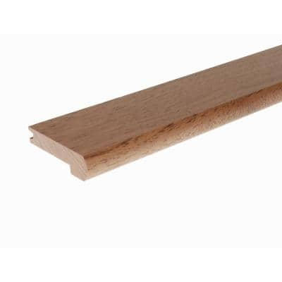 Solid Hardwood Adelle 0.75 in. T x 2.78 in. W x 78 in. L Low Gloss Stair Nose