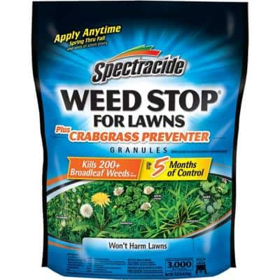 10.8 lbs. Weed Stop For Lawns Plus Crabgrass Preventer Granules, Up To 5 Months Of Control