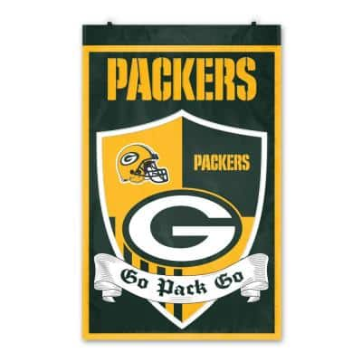 Green Bay Packers Shield Crest Wall Tapestry