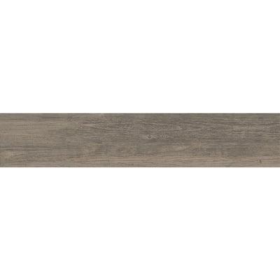 Woodshed Gray 7 in. x 36 in. Matte Ceramic Floor Tile (15.43 sq. ft. / carton)