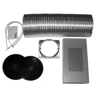 Non-Ducted Recirculation Kit for Tornado III Range Hood AN-1172 and AN-1173