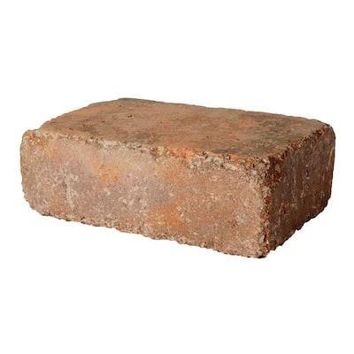 RumbleStone Large 3.5 in. x 10.5 in. x 7 in. Sierra Blend Concrete Garden Wall Block (96 Pcs. / 24.5 Face ft. / Pallet)