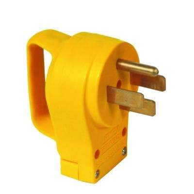 50-Amp Power Grip Replacement Male Plug