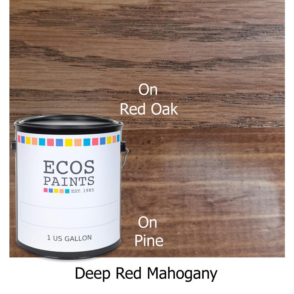 1 gal. Deep Red Mahogany WoodShield Interior Stain