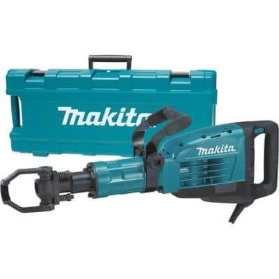 14 Amp 1-1/8 in. Hex Corded Variable Speed 35 lb. Demolition Hammer w/ Soft Start, LED, (1) Bull Point and Hard Case