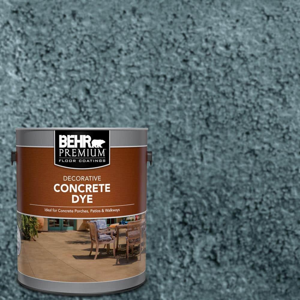 BEHR Premium 1 gal. #CD-827 Late Sky Interior/Exterior Concrete Dye