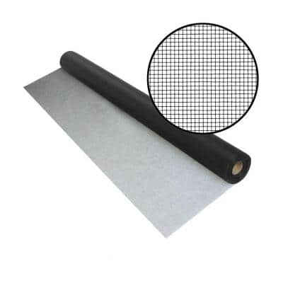 36 in. x 100 ft. UltraVue Black Insect Screen