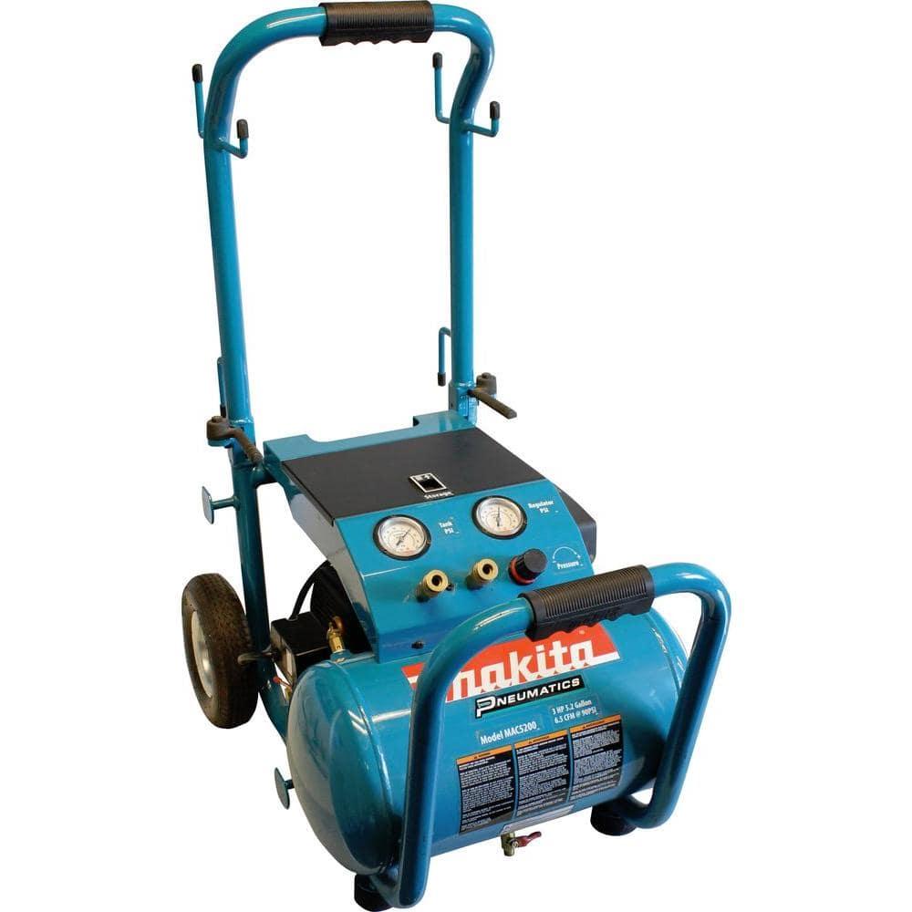 Makita 5.2加仑3.0马力电动单油箱空压机