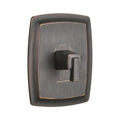 Townsend Single-Handle Thermostatic Valve Only Trim Kit in Legacy Bronze (Valve Not Included)