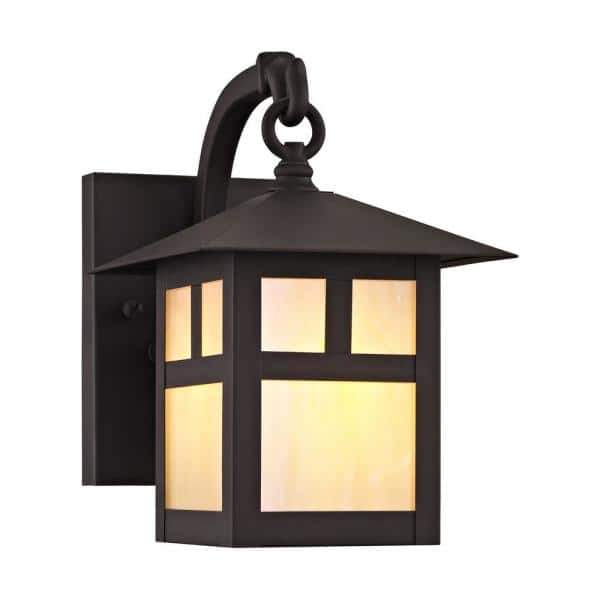 Light Bronze Outdoor Wall Sconce 2130, Outdoor Sconce Lighting Reviews