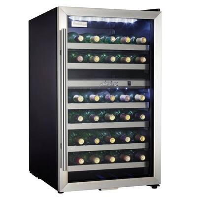 20 in. 38-Bottle Wine Cooler with 2-Temperature Zones