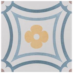 Caprice Saint Tropez Encaustic 7-7/8 in. x 7-7/8 in. Porcelain Floor and Wall Tile (11.46 sq. ft. / case)