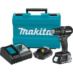 18-Volt 2.0 Ah LXT Lithium-Ion Sub-Compact Brushless Cordless 1/2 in. Driver Drill Kit
