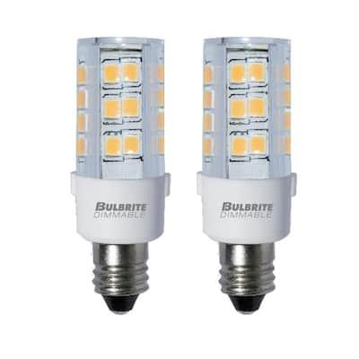 HBGD E11 Base 50W Light Bulb LED Mini Candelabra BulbDaylightJD T4 bulb120 vo...