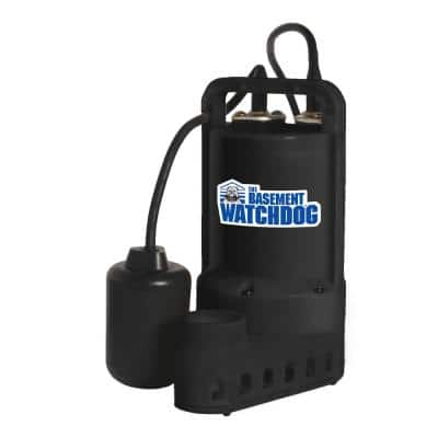 1/3 HP Submersible Sump Pump with Tether Switch