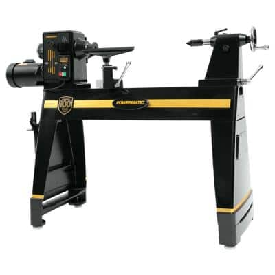 20 in. x 35 in. Wood Lathe with Risers and Legs - 100th Anniversary Limited Edition