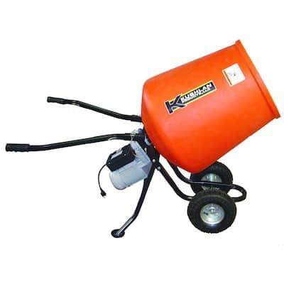 3.5 cu. ft. 1/2 HP 120-Volt Motor Direct Drive Low Profile Cement Mixer