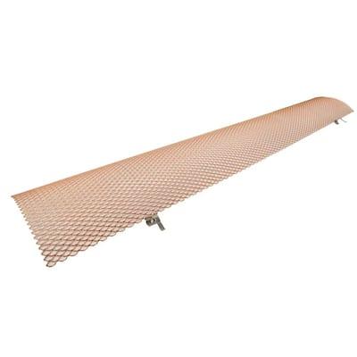 6 in. K-Style Copper 3 ft. Drop-In Gutter Guard (25-Piece per Carton)