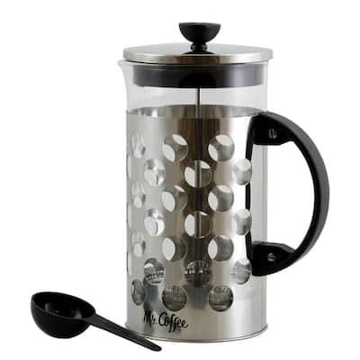 Polka Dot Brew 4-Cup Glass Coffee Press